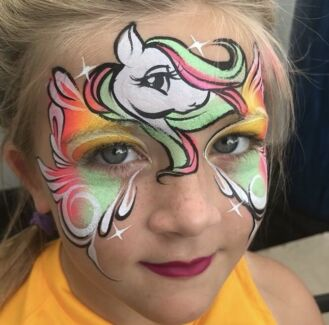 Christmas Facepainting, Balloon Twisting & Henna Decorations