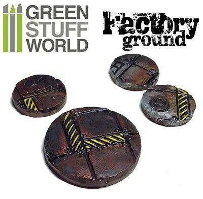Rolling Pin   Factory Ground Texture   For Warhammer And Miniature Bases