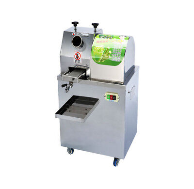 Used, Electric Sugar Cane Press Juicer Ginger Juice Extractor Stainless Steel 220V for sale  China