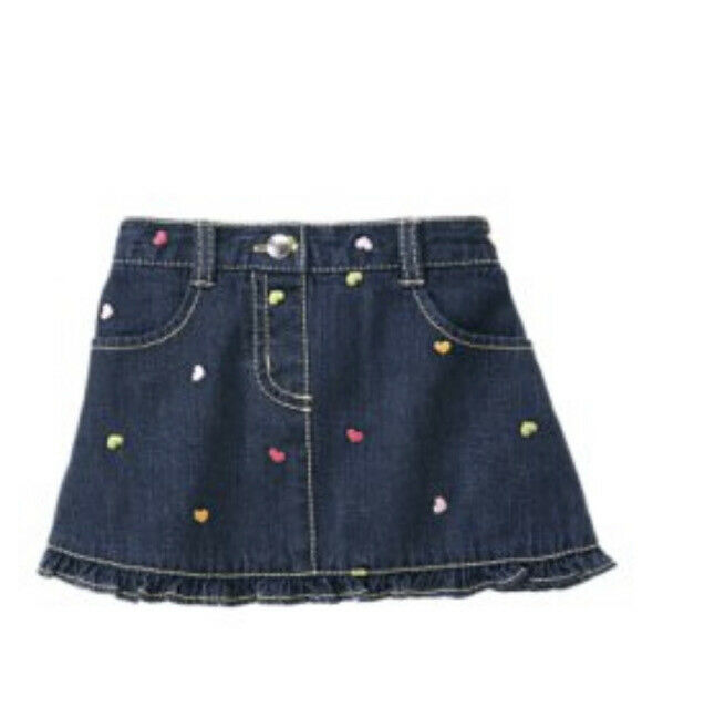 """New Gymboree """"Popstar Academy and Little Hearts"""" Skirt size 3T"""
