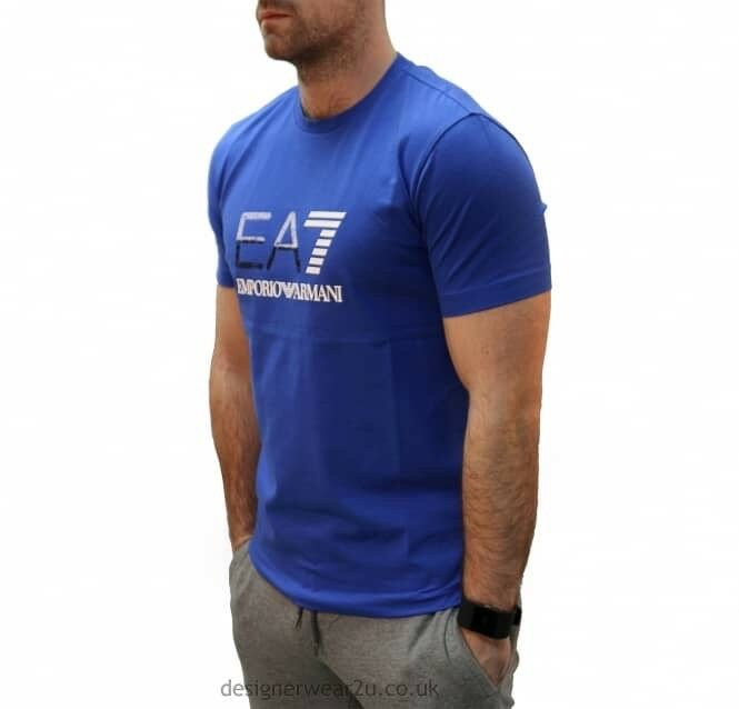Blue ea7 t shirt brand new with tags Genuine