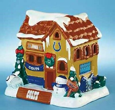 INDIANAPOLIS COLTS NFL FOOTBALL COLLECTIBLE CHRISTMAS HOLIDAY HOUSE HOME DECOR