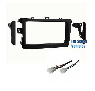 Dbl Din Car Stereo Dash Wire Kit Combo for some 2009 2010 2011 Toyota Corolla   Dbl Din Radio
