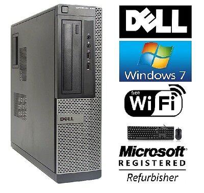 Dell Optiplex 390 SFF Windows 7 Professional Core I3 HDMI 3.1GHz 8GB DVD WiFi