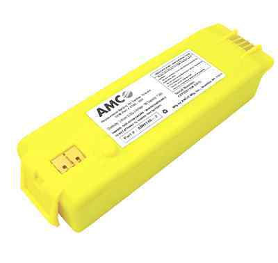 Yellow Amco 9146 Replacement Battery For Cardiac Science Powerheart G3