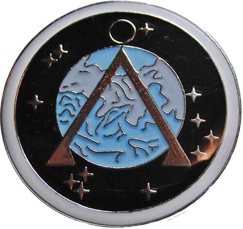 Stargate SG-1 Earth Projects Shoulder Logo Enamel Pin - New