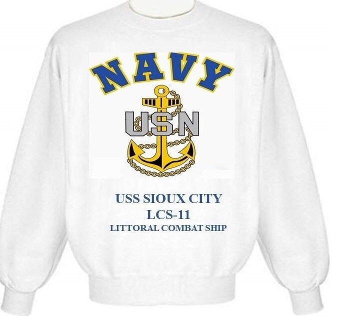 USS ESTOCIN   FFG-15* FRIGATE* NAVY ANCHOR* SHIRT