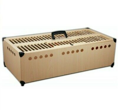 Pigeon Training Basket with side release door 80x40x22cm buy 2 get 1 scraper fre