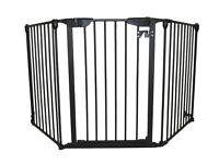 Extra wide adjustable baby gate