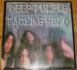 Deep Purple - Machine Head - Vinyl LP 1972