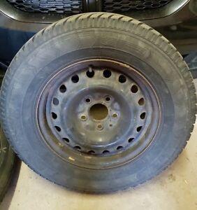 GT Savero WT (225/70 R16) Winter Tires on Rims