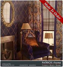 Curtains(Lint)  MADE TO ORDER Free Installation(No.PAK1003) Nunawading Whitehorse Area Preview