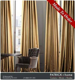Curtains(Blackout)Width:280cm FREE INSTALLATION  (No.533)