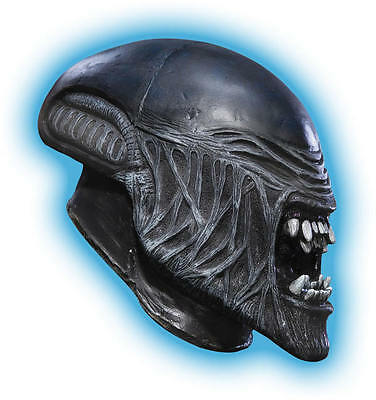 Alien AVP Movie Child 3/4 Vinyl Mask Costume Predator Halloween Accessory](Alien Movie Mask)