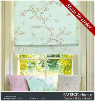 BLOCKOUT CURTAIN (printing) MADE TO ORDER (No.432)
