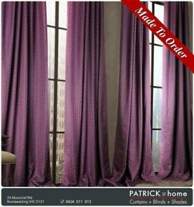 Curtains Blinds 30%Viscose 70%Poly FREE INSTALLATION (No.530)