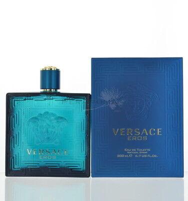 Eros By Versace Eau De Toilette 6.7 Oz 200 Ml Spray For Men