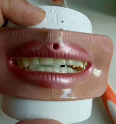 dental lab technician tools for porcelain teeth quality,aesthetics testing
