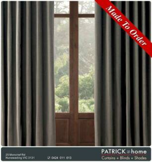Curtains+Blinds 30%Woolen 70%Poly Free Installation(No.046)