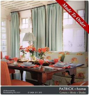 Curtains+Tassels MADE TO ORDER Free Installation(No.PAK1001)
