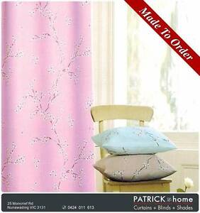 BLOCKOUT CURTAIN (printing) MADE TO ORDER (No.432) Nunawading Whitehorse Area Preview