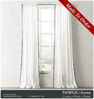 GOOD DESIGN Curtains With Tassels($31/m )+Tassel($18/m)(No512)