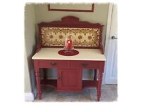 Stunning Victorian Washstand/Cupboard/Dressing Table