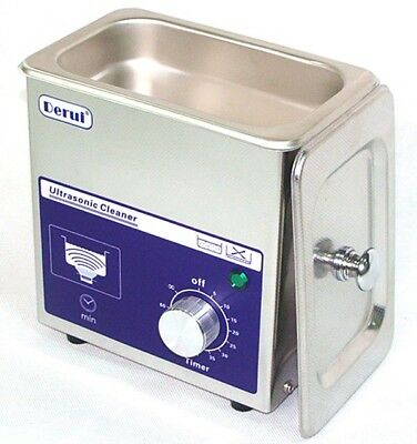 Denture Ultrasonic bath Clean Machine  Stainless Steel With Basket Timer DR-MS07