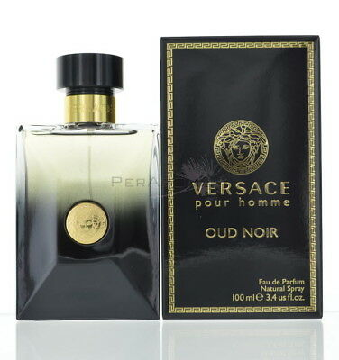 Oud Noir By Versace For MenEau De Parfum 3.4 Oz 100 Ml  For Men