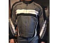 Motorbike Jacket Mens large Frank Thomas