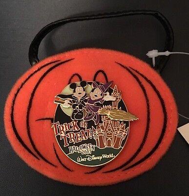 Mickey Minnie Mouse Halloween 2007 Magic Kingdom Treat Bag LE 2000 - Minnie Mouse Halloween Bag