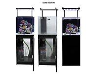 Aqua one mini reef 90 cabinet and led lighting