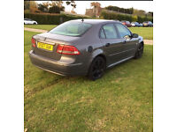 SAAB 9-3 DIESEL VECTOR SPORT 6 MONTHS MOT AND FULL SERVICE HISTORY-PART LEATHER-REMAPPED -RARE CAR
