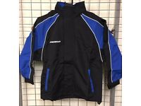 prostar atlantis rain jacket blue/black with white piping £11.99 / £14.99