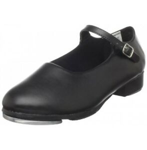 Ladies Size 9 Mary Jane Black Bloch Tap Shoes - Really Nice