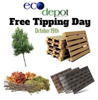 Eco Depot's FREE Tipping Day!!