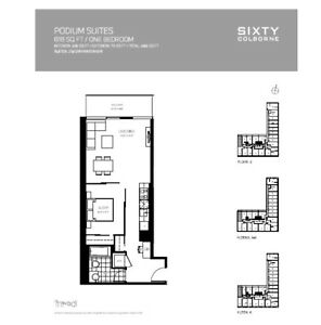 BRAND NEW LUXURY 1 BED 600+SF ASSIGNMENT DEAL MUST SEE !