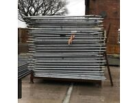 Used heras fencing panels/ site security panels