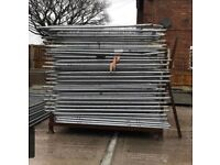 Heras fencing panels used. Banded pack of 30