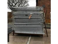 New Heras fence panels…site security fencing…