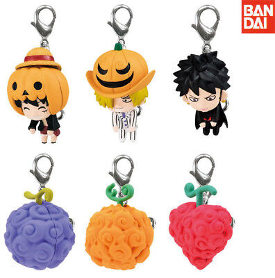 BANDAI One Piece Anime Linked Halloween Special Lobster Clasp Figure set of - One Piece Halloween Special