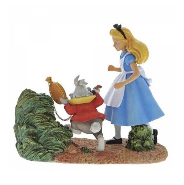 **REDUCED**New*Boxed Disney Enchanting *Mr Rabbit, Wait!* 🐇 Figurine 💙💚💛❤️ ⏰