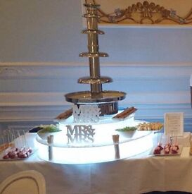 SPECIAL OFFER CHOCOLATE FOUNTAIN HIRE, WEDDING, CHRISTENING,BIRTHDAY PARTY, COMMERCIAL,HALAL