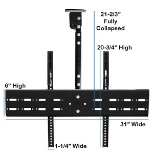 PPA-034 Ceiling TV Mount with Telescopic Extender (2) $45 ea.
