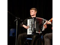 Accordion Teacher/Tutor in Clackmannanshire and Glasgow