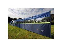 New Berghaus Windbreak Windstop blue 6m x 1.4m with window 2000HH multibuy available