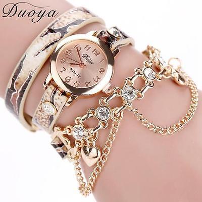 luxury heart pendant women watches women bracelet watch women wristwatches (Heart Pendant Watch)