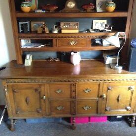 dark wood dresser. sorry now sold.