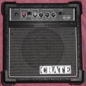 Crate G10XL 30W Solid State Guitar Amplifier Black