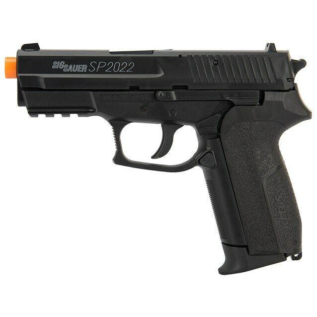 500 FPS SIG SAUER SP2022 LICENSED CO2 GAS AIRSOFT PISTOL HAND GUN w/ 6mm BB BBs